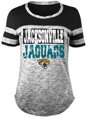 5th & Ocean Women's Jacksonville Jaguars Space Dye Foil T-Shirt