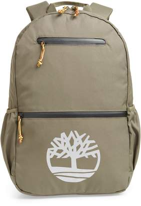 Timberland Logo Graphic Water Resistant Backpack