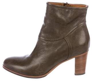 Alberto Fermani Leather Ankle Boots