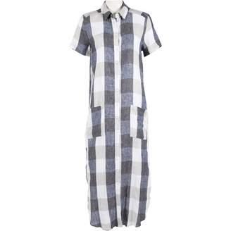 Reformation Blue Linen Dresses