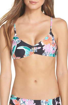 Trina Turk Floral Bikini Top