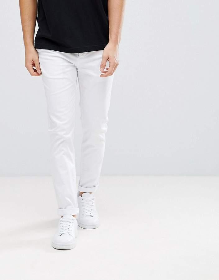 Asos Skinny Chinos In White