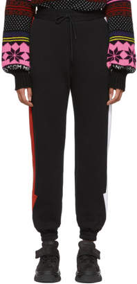 MSGM Black Arrow Lounge Pants
