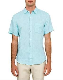 David Jones Short Sleeve Linen Shirt