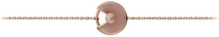 Amulette de Pink Opal Bracelet