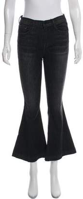 Frame Mid-Rise Wide-Leg Jeans w/ Tags