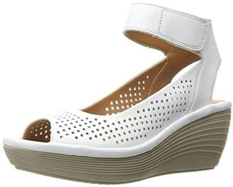 Clarks Women's 889307086210 Wedge Sandal