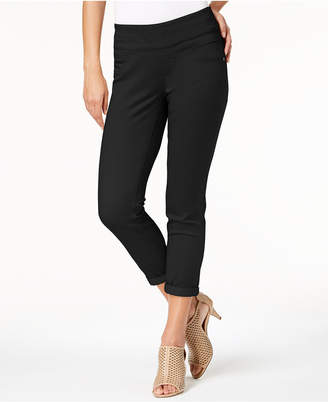 Style&Co. Style & Co Rolled-Hem Skinny Pants