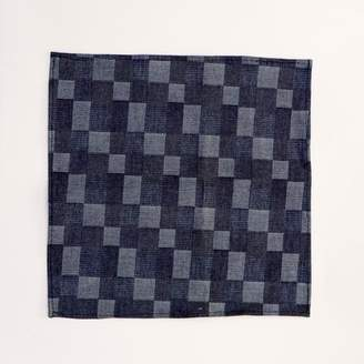 Blade + Blue Denim Patchwork Pocket Square