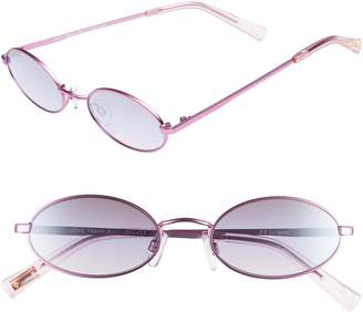 Le Specs Love Train 51mm Oval Sunglasses