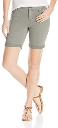Liverpool Jeans Company Women's Corine Walking Short Rolled-Cuff in Stretch Peached Twill