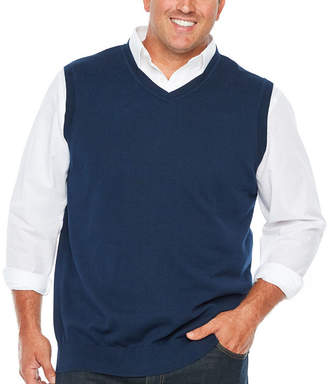 Co THE FOUNDRY SUPPLY The Foundry Big & Tall Supply V Neck Sweater Vest Big and Tall
