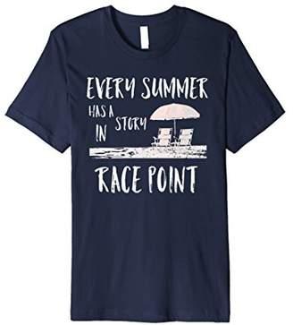 Race Point Provincetown Cape Cod Trendy Souvenir T Shirt