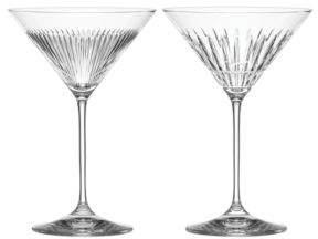 Thomas O'Brien for Reed & Barton New Vintage Martini Glass, Set of 2