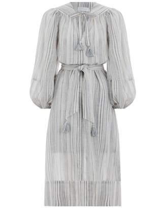 Zimmermann Helm Ombre Stripe Long Dress