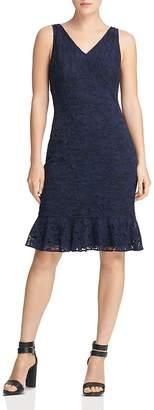 Donna Karan Sleeveless Lace Dress