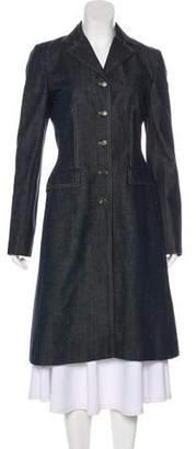 Dolce & Gabbana Long Denim Coat