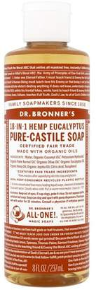 Dr Bronner Dr. Bronner's Organic Eucalyptus Pure-Castile Liquid Soap 237ml - No Colour