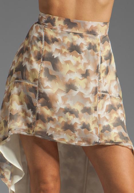 Winter Kate Peony Skirt