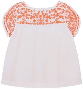 Polo Ralph Lauren Embroidered Blouse