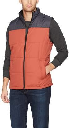 ZeroXposur Men's Block-Quilted Puffer Vest