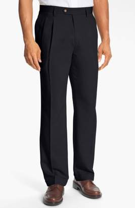 Cutter & Buck Double Pleated Microfiber Pants