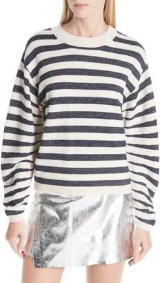BA&SH Sunday Stripe Wool Blend Sweater