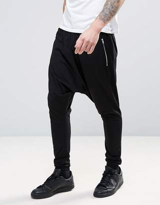 ASOS Lightweight Extreme Drop Crotch Jogger With Zip Pockets $31 thestylecure.com