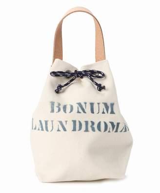 BONUM (ボナム) - BONUM No8 Canvas Draw String Bag S