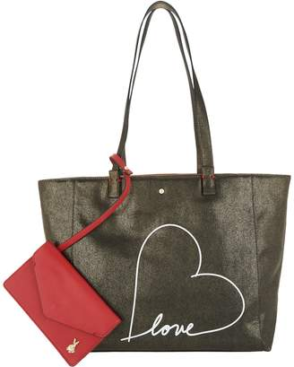 ED Ellen Degeneres Lyon Tote with Messaging
