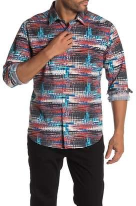 Robert Graham Colonnade Long Sleeve Classic Fit Shirt