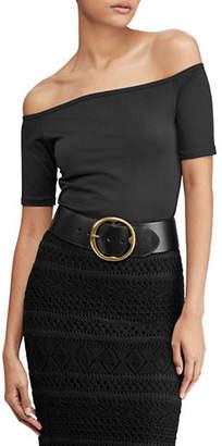 Polo Ralph Lauren Knit-Off-The-Shoulder Top