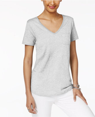 Style & Co Pocketed T-Shirt, Created for Macy's $9.98 thestylecure.com