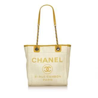 Chanel Deauville Cloth Tote