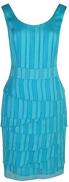 Minuet Petite Stripe layered dress