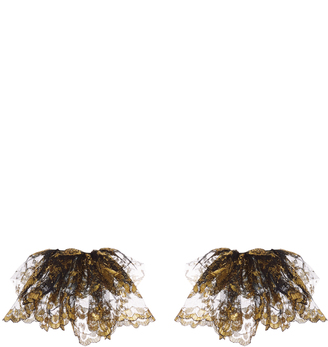 Gilded Lace Cuffs