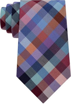 Tommy Hilfiger Men's Super Multi Grid Tie $65 thestylecure.com