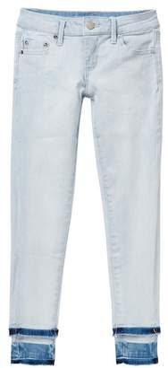 Tractr Distressed Ankle Skinny Jeans (Big Girls)