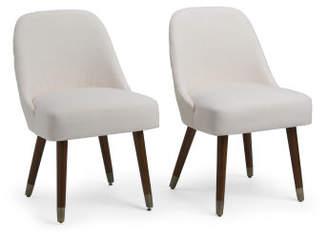 Set Of 2 Jenna Dining Chairs