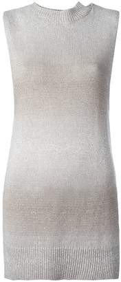 Lamberto Losani high neck knitted tank