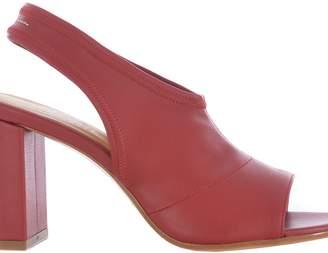 MM6 MAISON MARGIELA Peep Toe Sling Back Sandals