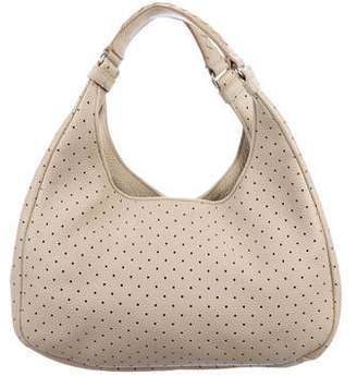 Bottega Veneta Perforated Leather Hobo