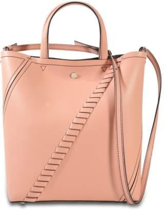 Proenza Schouler Hex Tote in Deep Blush Mini Grain Leather
