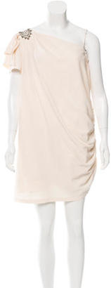 Alice by Temperley Silk One-Shoulder Dress $80 thestylecure.com