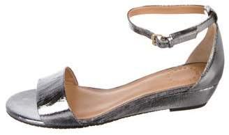 Marc by Marc Jacobs Metallic Wedge Sandals