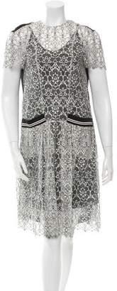 Preen by Thornton Bregazzi Preen Lace Short Sleeve Dress w/ Tags