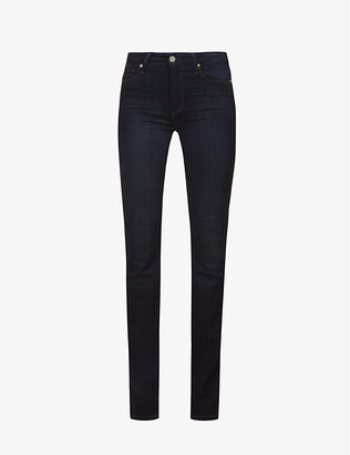 Paige Denim Hoxton straight high-rise jeans