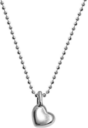 Alex Woo Sterling Silver Mini Heart Chain Necklace, 16""