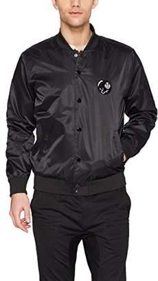 Obey Men's Roller Regular Fit Bomber Jacket