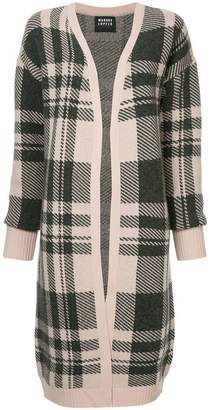 Markus Lupfer checked long cardigan